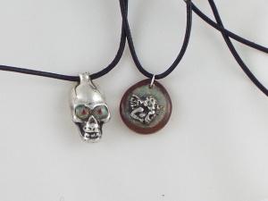 Custom hand cast silver jewelry