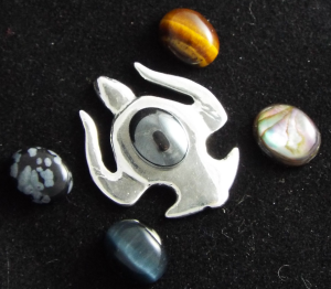 Silver Turtle Stone Selection
